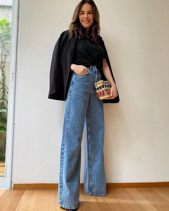 modelo de jeans